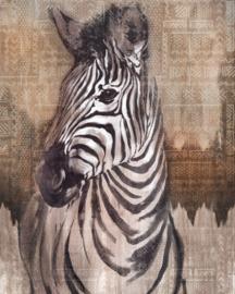 Komar Home Imagine Edition 4 Fotobehang X4-1010 Zebra/Dieren/Tekens