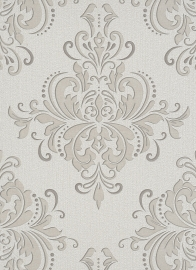 Behangexpresse Filino Behang 6959-02 Taupe/Ornament/Barok