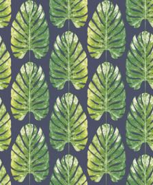 Noordwand Evergreen Behang 7328 Botanisch/Bladeren/Natuurlijk/Blauw/Groen