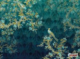 Komar/Noordwand Heritage Edition1 Fotobehang HX7-056 Paradis/Botanisch/Bloemen/Vogels Behang