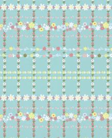 Eijffinger Rice Behang 359030 Kinder/Bloemen/Streep/Romantisch