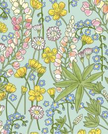 Eijffinger Rice 2 Behang 383502 Scandinavisch/Romantisch/Bloemen