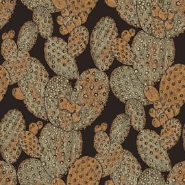 Noordwand #Hashtag Behang 11058 Cactus/Botanisch/Natuurlijk/Koper