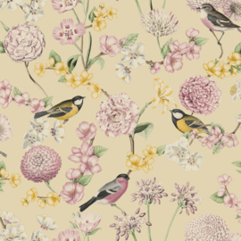 Dutch Wallcoverings Escapade Behang L78802 Botanisch/Vogels/Bloemen