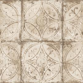 Noordwand Grunge Behang G45375 Tegel/Klassiek/Nostalgisch/Landelijk/Ornament
