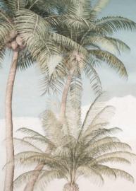 Noordwand Komar Raw Fotobehang R2-003 Palm Oasis/Bomen/Palmboom/Botanisch/Natuurlijk