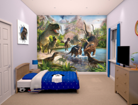 Walltastic Wall Mural 41745 Dinosaur Land Fotobehang - Dutch Wallcoverings