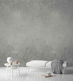 Dutch Wallcoverings One Roll One Motif Behang A35101 Concrete Stars/Beton/Sterren/Grafisch/Modern
