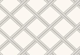 Hookedonwalls Boheme Behang BO23033 Braid/Modern/Ruiten/Landelijk/Modern