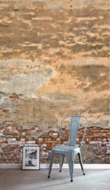 Esta Home #FAB Behang 157704 XL Old Tuscan Wall Fotobehang/Stenen/Verweerd