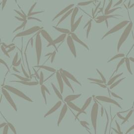 Origin City Chic Behang 353-347736 Bladeren/Bamboe/Natuurlijk