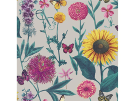 Arthouse  Bloom Behang 676204 Summer Garden Grey/Bloemen/Floral/Botanisch
