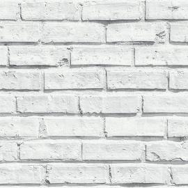 Arthouse Options Behang 623004 Witte Bakstenen Behang -Atwalls