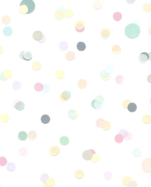 Eijffinger Mini Me Behang 399001 Stippen/Dots/Pastel/Kinderkamer