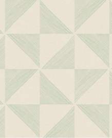 Eijffinger Geonature Behang 366031 Modern/Grafisch/Driehoek