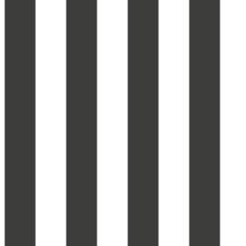 Noordwand #Hashtag Behang 5665 Strepen/Modern/Landelijk/Zwart/Wit