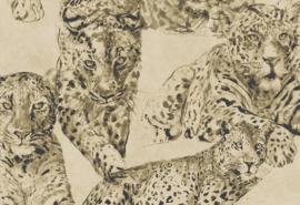 Hookedonwalls Blooming Behang BL22721 Panther/Dieren/Panter/Natuurlijk