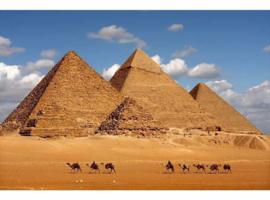 Atwalls/Dimex Fotobehang MS-5-0051 Egypt Pyramids/Egypte/ Piramiden Behang