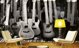 Dimex Fotobehang Guitars Collection MS-5-0303 Gitaren/Muziek/Instrumenten