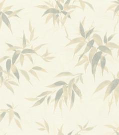 Rasch Kimono Behang 409741 Botanisch/Bladeren/Natuurlijk/Landelijk