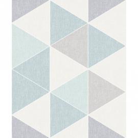 Arthouse Retro House Behang 908205 Triangle Pastel/Scandinavisch/Driehoek/Modern