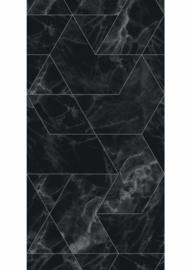 Kek Amsterdam Marble Black 2D Fotobehang WP-575 Marmer/Modern/Grafisch/Zwart