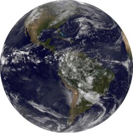 Komar Home Imagine Edition 4 Fotobehang D1-016 Earth/Aarde/CirkelModern