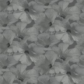 Dutch Wallcoverings Annuell Behang 11003 Bladeren/Botanisch/Modern/Natuurlijk/Grijs