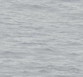 Dutch Wallcoverings Navy, Grey & White Behang BL71308 Zee/Water/Golven/Natuurlijk/Grijs