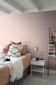 Esta Home Art Deco Behang 156-139201 Modern/Grafisch/Lijnen/Bogen