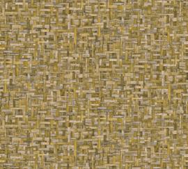 AS Creation Jungle Chic Behang 37706-4 Weef structuur/Natuurlijk/Landelijk