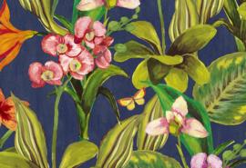 Hookedonwalls Breeze Behang BR24081 Orchidea/Bloemen/Botanisch/Vlinders