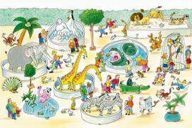 AS Creation Wallpaper 3 XXL Fotobehang 471677 Zoo/Dierentuin/Kinderkamer