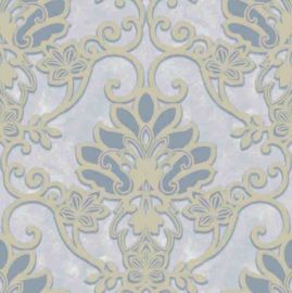 Behangexpresse Florence FR87214 Barok/Ornament/Klassiek/Blauw Behang