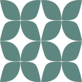 Esta Home Scandi Cool Behang 152-139099 Modern/Grafisch/Retro/60/70 Jaren/Zeegroen