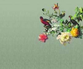 Eijffinger Museum Fotobehang 307402 Big Birds Ebony/Bloemen/Vogels/Klassiek/Modern