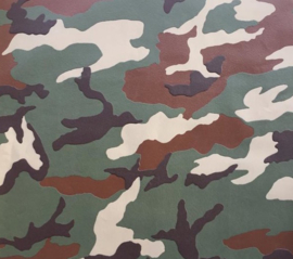 ASCreation Boys & Girls 6 Behang 3694-06 Camouflage/Legerprint/Stoer/Groen