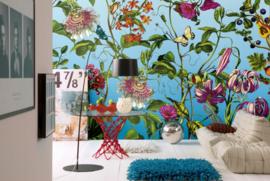 Komar Stories XXL4-029 Jardin/Botanisch/Bloemen Fotobehang - Noordwand