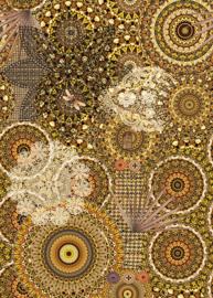 Behangexpresse Circle of Life/Select.D Fotobehang TD4154 Madras/Mandala/Libelle/Botanisch