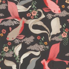 Onszelf Amazing Behang 539851 Koi Karpers/Vissen/Japan/Dieren/Natuurlijk