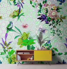 Walls by Patel DD110191 Mosaic Garden 1 Fotobehang - ASCreation