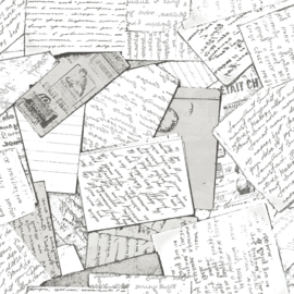 Noordwand #Hashtag Behang 11017 Tekst/Papier/Notities/Geschreven schrift