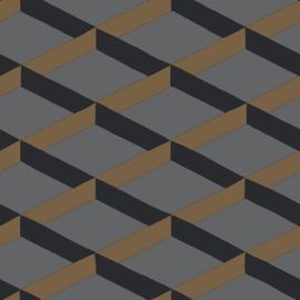 Hookedonwalls Daimon Behang DA23253 Modern/3D/Grafisch/Vlakken