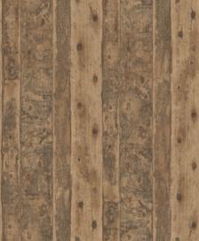 Noordwand Grunge Behang G45346 Hout/Planken/Landelijk/Natuurlijk/Bruin