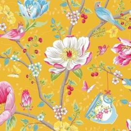 Eijffinger Pip Studio 3 Behang 341006 Romantisch/Bloemen/Geel