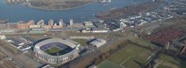 Fotobehang.De Kuip-Feyenoord-panorama nr.2