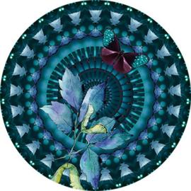 Behangexpresse Circle of Life/Select.D Cirkel TD805 Monet/Mandala/Vlinder/Botanisch