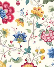 Eijffinger Pip Studio 3 Behang 341030 Floral Fantasy White/Romantisch/Bloemen