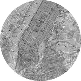 Komar Home Imagine Edition 4 Fotobehang D1-056 Map/Kaart/Steden/Modern