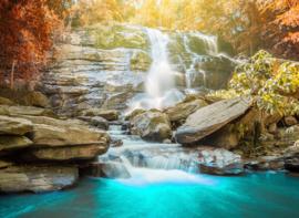 AS Creation Designwalls Fotobehang DD118662 Waterfall/Water/Natuur/Rotswand/Travelling